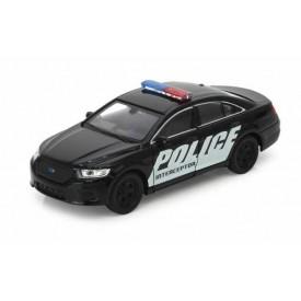 Welly -  Ford Policie Interceptor 1:34 černý