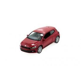 Welly - VW Scirocco 1:34 červené