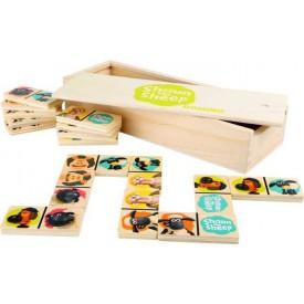 Dřevěná hra - Ovečka Shaun Domino