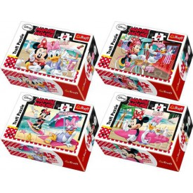 Minnie Mouse mini puzzle - 1ks