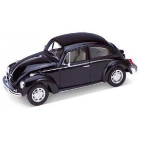 Welly - Volkswagen Beetle 1:24 černý