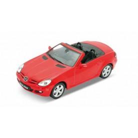 Welly - Mercedes-Benz SLK 350 1:34 červený