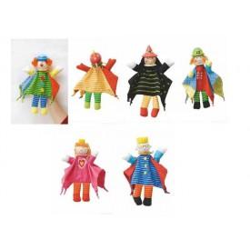 Dřevěné hračky - Dětská divadla - Maňásek pohádka 6 druhů