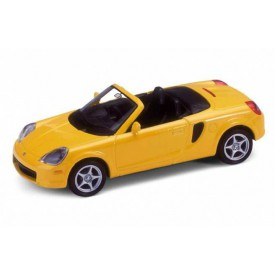 Welly - Toyota MR2 Spyder 1:34 žlutá