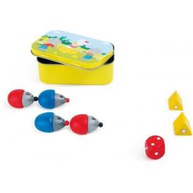 Dřevěné hry - Sýry a myši - 1ks