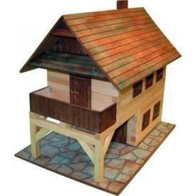 Dřevěná slepovací stavebnice Walachia Radnice