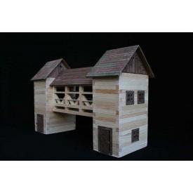 Dřevěná slepovací stavebnice Walachia Most