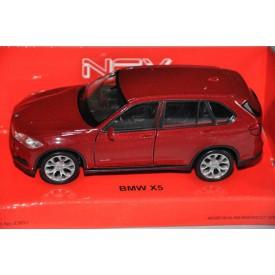 Welly - BMW X5 1:34 červené