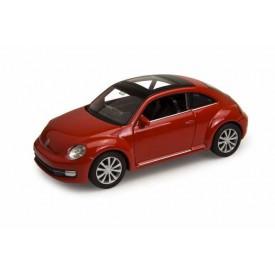 Welly -  Volkswagen The Beetle 1:34 červený