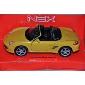 Welly - Porsche boxter S 1:34 žluté