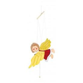 Dřevěné dekorace - Houpací anděl