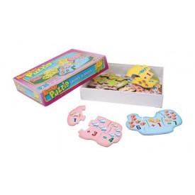 Dřevěné hračky - Výpočetní puzzle