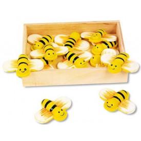 Dětské dekorace - Dekorační včely 12 ks
