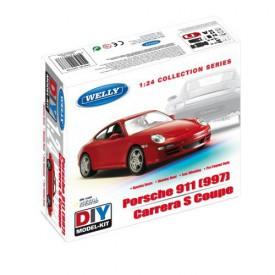 Welly - Porsche 911 (997) Carrera S Coupe 1:24 stavebnice
