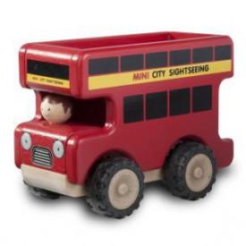 Dřevěný Mini vyhlídkový autobus
