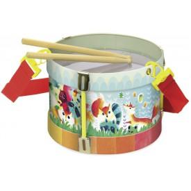 Vilac dětské hudební nástroje - Bubínek Woodland