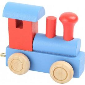 Legler Vláček abeceda - Lokomotiva barevná