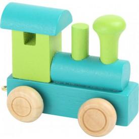 Legler Vláček abeceda - Lokomotiva zelená