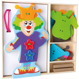 Oblékání klauna