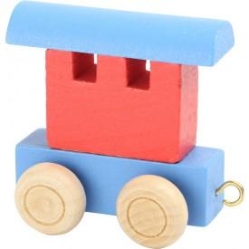 Legler Vláček abeceda - vagónek barevný