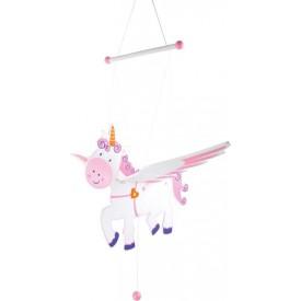 Legler Dekorace - létající jednorožec
