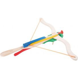 Dřevěné hračky pro kluky - Dvouručná kuše