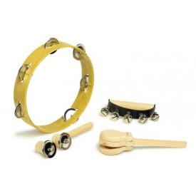 Dřevěné hračky - Dřevěná sada hudebních nástrojů