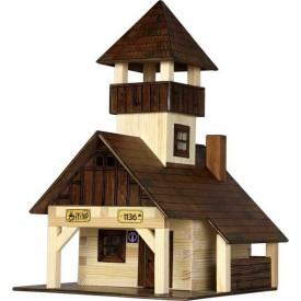 Dřevěná slepovací stavebnice Walachia Turistická bouda