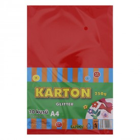 Barevný karton A4 250g