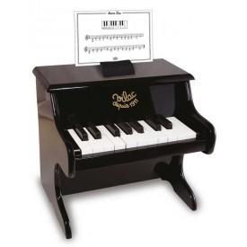 Vilac dětské hudební nástroje - Klavír černý