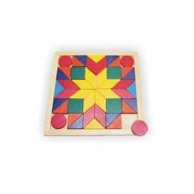 Dřevěné hračky - Mozaika čtverec