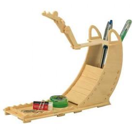 Dřevěné skládačky 3D puzzle -Stojan na tužky Skok do vody