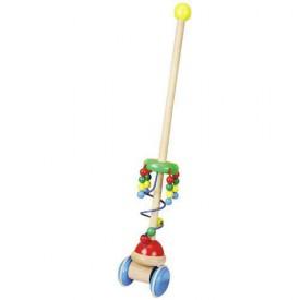 Dřevěné hračky - Tahací hračky - Jezdík perly