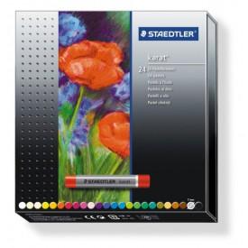 Olejové pastely KARAT sada 24 barev