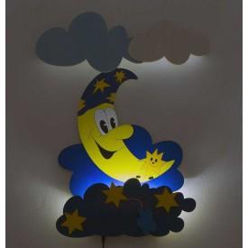 Dětská LED lampička - Měsíček