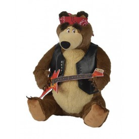 Máša a medvěd Medvěd Míša rocker 30 cm, hrající