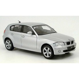 Welly - BMW 120 1:34 stříbrné