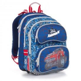 Školní batoh Blue CHI 841