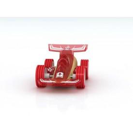 HAPE dřevěné auto - Závodní autíčko Hape Mini Racer