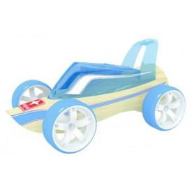 HAPE dřevěné auto - Závodní autíčko Hape Mini Roadster