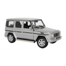 Welly - Mercedes-Benz G-Class 1:24 stříbrný