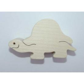 Dřevěná hračka - Dřevěné zvířátko - želva