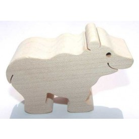 Dřevěná hračka - Medvěd