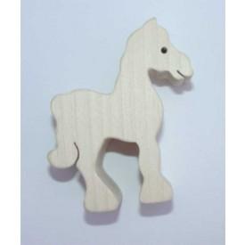 Dřevěná hračka - Dřevěné zvířátko - kůň