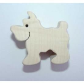 Dřevěná hračka - Dřevěné zvířátko - pes