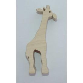 Dřevěná hračka - Dřevěné zvířátko - žirafa