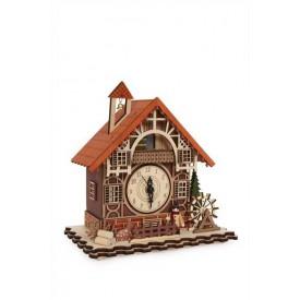 Bytové dekorace - Hodiny Hrázděný dům