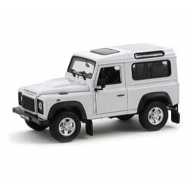 Welly - Land Rover Defender 1:24 bílý