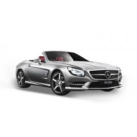 Welly - 2012 Mercedes-Benz SL 500 kabriolet 1:24 bílý