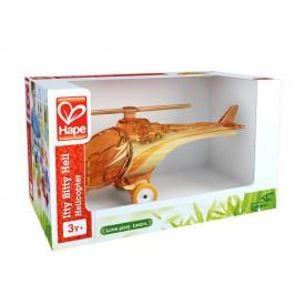HAPE dřevěný vrtulník